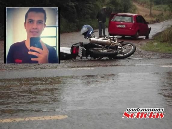 38485304c16d Morre jovem que foi vítima de acidente entre carro e moto em Três de ...